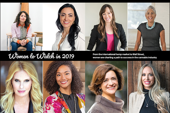 Marijuana Business Magazine: Women to Watch in 2019
